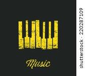 Music Piano Keyboard. Can Be...