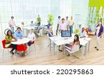 group of business people in the ... | Shutterstock . vector #220295863
