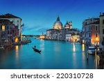 Grand Canal And Basilica Santa...