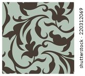 retro wallpaper patterns | Shutterstock .eps vector #220312069