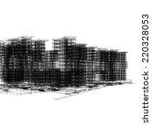 modern architecture buildings... | Shutterstock . vector #220328053