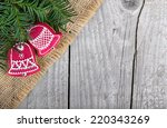 christmas gingerbread | Shutterstock . vector #220343269