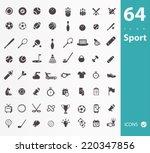 sport icons | Shutterstock .eps vector #220347856