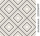 vector seamless pattern. modern ... | Shutterstock .eps vector #220356499