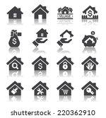 house icon | Shutterstock .eps vector #220362910