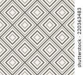 vector seamless pattern. modern ... | Shutterstock .eps vector #220363483