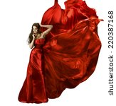 woman beauty fashion dress ... | Shutterstock . vector #220387168
