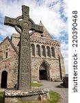 iona abbey  scotland | Shutterstock . vector #220390468