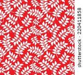 digital paper for scrapbook red ... | Shutterstock . vector #220411858