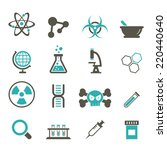 science icon | Shutterstock .eps vector #220440640