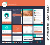 ui and ux kit for website and...