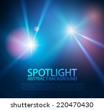 spotlight abstract background.... | Shutterstock .eps vector #220470430