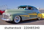 Постер, плакат: A 1948 Chevrolet Fleetline