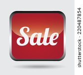 sale graphic design   vector... | Shutterstock .eps vector #220487854