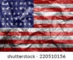 flag american | Shutterstock . vector #220510156