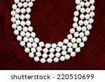 a close up shot of a pearl...   Shutterstock . vector #220510699