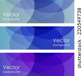 abstract color backgrounds | Shutterstock .eps vector #220549738