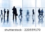 business people in the city | Shutterstock . vector #220559170