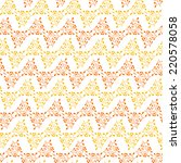 cute seamless texture with... | Shutterstock .eps vector #220578058