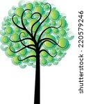 vector tree | Shutterstock .eps vector #220579246
