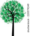 vector tree | Shutterstock .eps vector #220579249