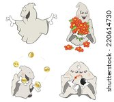 Ghosts Clip Art Cartoon