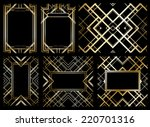 retro pattern for vintage party ... | Shutterstock . vector #220701316