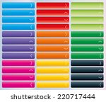 set of web buttons with arrow... | Shutterstock .eps vector #220717444