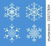 christmas vector illustration   ...   Shutterstock .eps vector #220717834