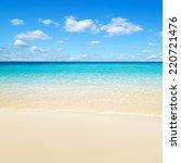 beach  | Shutterstock . vector #220721476