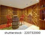 Wine Cellar Interior In...