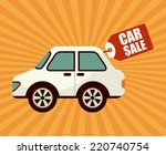 buy car graphic design   vector ... | Shutterstock .eps vector #220740754