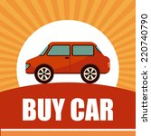 buy car graphic design   vector ... | Shutterstock .eps vector #220740790