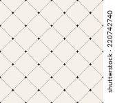 vector seamless pattern. modern ... | Shutterstock .eps vector #220742740