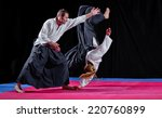 Two Martial Arts Fighters On...