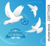 international day of peace... | Shutterstock .eps vector #220772428