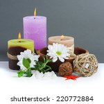 spa background. shallow dof | Shutterstock . vector #220772884
