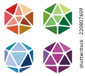 Crystal Abstract Logo Template...