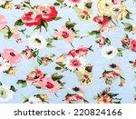 flowers design seamless pattern ... | Shutterstock . vector #220824166