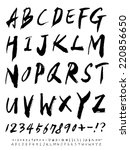alphabet | Shutterstock .eps vector #220856650