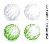 Two Hi Detail Golf Balls  One...