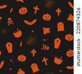 vector seamless pattern for... | Shutterstock .eps vector #220874326
