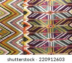 colourful rug background... | Shutterstock . vector #220912603