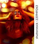 dark color toned picture of... | Shutterstock . vector #220949263