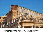 Detail Of The Apostolic Palace  ...