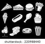 illustration of the different... | Shutterstock .eps vector #220988440