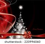 christmas background.  | Shutterstock .eps vector #220996060