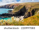 overlooking housel bay with...