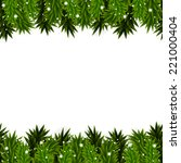 christmas background with... | Shutterstock . vector #221000404