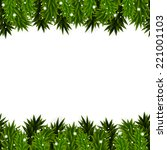 christmas background with... | Shutterstock .eps vector #221001103